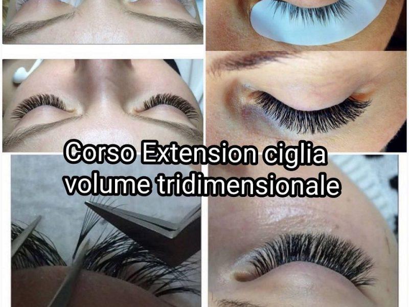 Corso-Extension-Ciglia-Volume-Tridimensionale